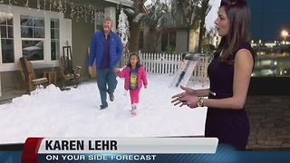 Boise home turns to winter wonderland - Video