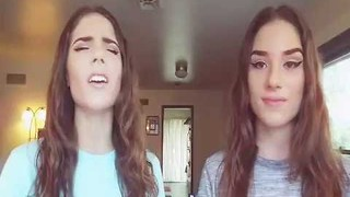 Sisters Sing Spectacular Star-Spangled Banner Rendition - Video