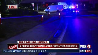 Police searching for suspect following double shooting in Fort Myers
