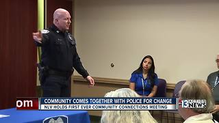 Residents meet with North Las Vegas police - Video