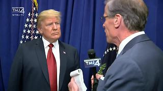"President Trump on Foxconn: ""I actually recommended Wisconsin"""