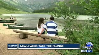 Vail couple's marriage tested after wedding ring is lost during paddle boarding trip - Video