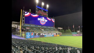 The Cleveland Indians kick off Home Opener at Progressive Field