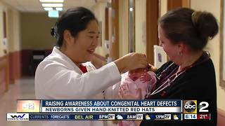 Little Hats Big Hearts donates hats to local hospital - Video
