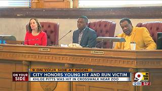 City honors young hit-and-run victim