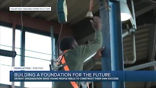 Detroit company helps high school students build futures in skilled trades