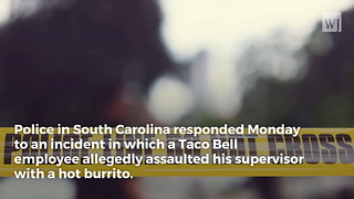 Police Search for Taco Bell Worker After Manager Is Assaulted With Hot Burrito - Video