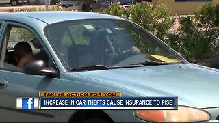 Auto insurance rates spiking across Tampa Bay - Video