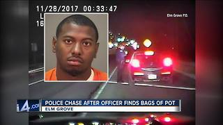 Man turns himself into police after chase
