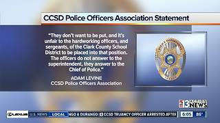 Unions respond to CCSD ban on Trustee Kevin Child - Video