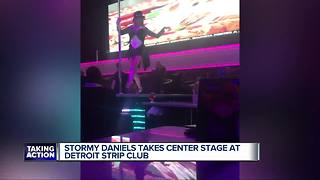 Stormy Daniels performs at Detroit's Truth Gentleman's Club - Video