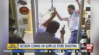 Police release video of commissioner shooting