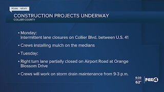 Collier County Traffic Advisory