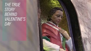 Inside the Irish church where the real Valentine lies - Video