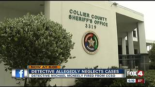 Collier Detective Allegedly Neglects Cases - Video