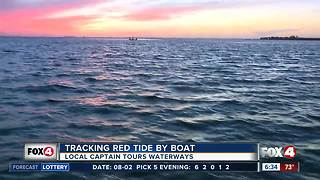 Tracking red tide in Southwest Florida waterways by boat - 6:30am live report - Video