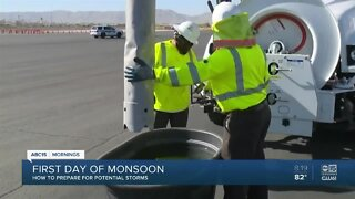 City of Phoenix shows how they help clear flooded streets