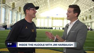 Inside the Huddle with Jim Harbaugh: Harbaugh won't call O'Korn a