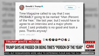 CNN Reporter Blasts Trump for Playing Favorites With News Outlets - Trips Over Obama - Video