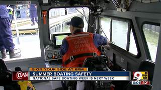 Summer boating safety - Video