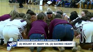 Cardinal O'Hara, Sacred Heart advance to Monsignor Martin Class A Finals - Video