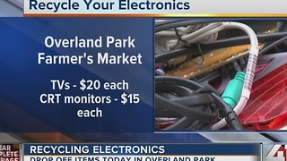 Recycling electronics: Drop off items on Tuesday in Overland Park - Video