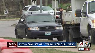 "KCPD prepares for ""March For Our Lives"" rally"