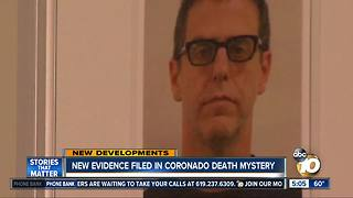 New evidence filed in Coronado mansion death mystery - Video