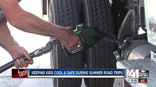 Keep your kids cool during hot summer driving trips