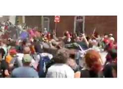 Video Shows Commotion as Car Plows Into Crowd Following Charlottesville Rally - Video