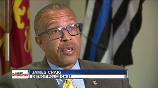 Detroit's police chief responds to so-called 'Blue Flight' in his department - Video