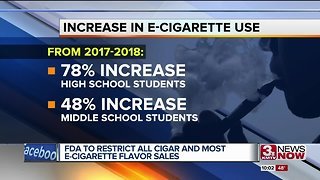 Business owners react to FDA restrictions on e-cigarettes - Video