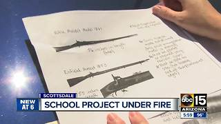 Middle school Civil War project criticized - Video