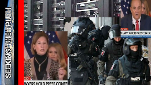 Rudy Giuliani Calls out FBI - Sidney Powell CONFIRMS Servers in Germany Were Seized