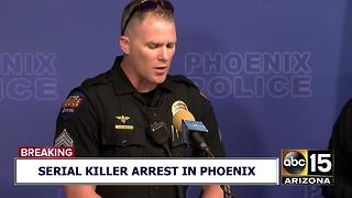 FULL VIDEO: Phoenix police announce arrest of suspected serial killer - Video