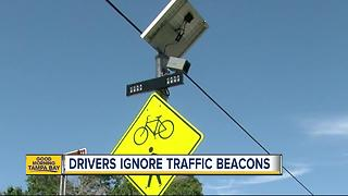 "Stop your car, save a cyclist: Don't ignore flashing yellow ""beacons"" - Video"
