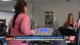 Florida woman now fighting cancer after dramatic weight loss