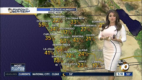 10News Pinpoint Weather with Kalyna Astrinos