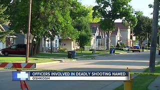 Oshkosh officers involved in deadly shooting identified - Video
