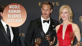 Nicole Kidman defends her kiss with Alexander Skarsgård - Video