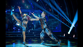 HRVY and Janette Manrara's perfect Strictly Come Dancing score