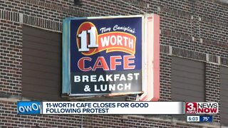 11-Worth Cafe closes for good following protest