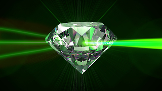 Scientists have discovered how to create a real life 'superlaser' using an ultra-pure diamond. How exactly does it work? - Video
