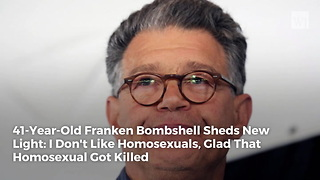 41-Year-Old Franken Bombshell Sheds New Light: I Don't Like Homosexuals, Glad That Homosexual Got Killed - Video