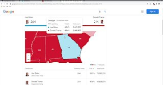 Georgia may be the deciding factor in the election