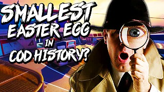 Smallest Easter egg in Call of Duty history? - Video