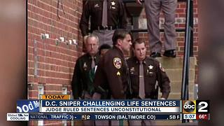 D.C. sniper challenging life sentences - Video