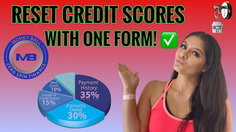 Raise Credit Scores With One Form!