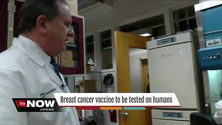 Breast cancer vaccine to tested on humans - Video