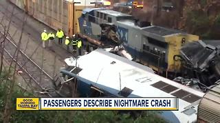 Tampa Woman Describes Amtrak Crash - Video